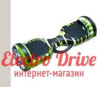 "Гироскутер Smart Balance Wheel 6,5 дюймов ""Зеленый граффити"" арт. 1147"