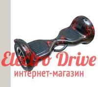 """Гироскутер Smart Balance Wheel 10 дюймов """"Красная молния"""" арт. 1379"""