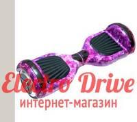 """Гироскутер Smart Balance Wheel 6,5 дюймов """"Фиолетовый космос"""" арт. 1198"""