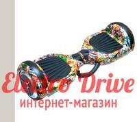 "Гироскутер Smart Balance Wheel 6,5 дюймов ""Стикербомбинг"" арт. 1208"