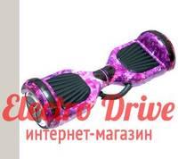 """Гироскутер Smart Balance Wheel 6,5 дюймов """"Фиолетовый космос"""" арт. 1210"""