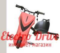 "Электроскутер для дрифта PowerRider 360 ""Красный"" арт. 1431"