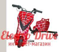 "Электроскутер для дрифта PowerRider 360 ""Красный паук"" арт. 1433"