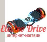 "Гироскутер Smart Balance Wheel 6,5 дюймов ""Лед и пламя"" арт. 1241"