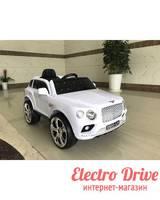 Электромобиль BENTLEY E777KX Резиновые колеса арт. 2044