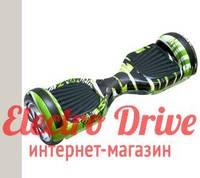 "Гироскутер Smart Balance Wheel 6,5 дюймов ""Зеленый граффити"" арт. 1247"