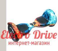 "Гироскутер Smart Balance Wheel 10 дюймов ""Лёд и пламя"" арт. 1254"