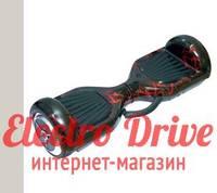 """Гироскутер Smart Balance Wheel 6,5 дюймов """"Красная молния"""" арт. 1288"""