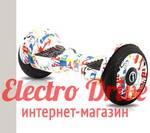 "Гироскутер iBalance iB105A002 10,5 дюймов цвет ""Белый Граффити"" арт. 1291"